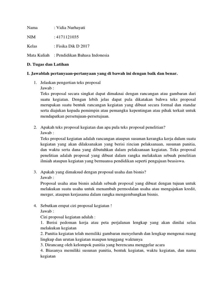 Ciri Ciri Proposal Yang Baik : proposal, 4.docx