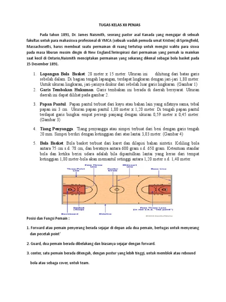 Rangkuman Tentang Bola Basket : rangkuman, tentang, basket, Rangkuman, Basket