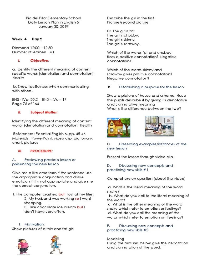 small resolution of DLP-JAN-30   Connotation   Lesson Plan