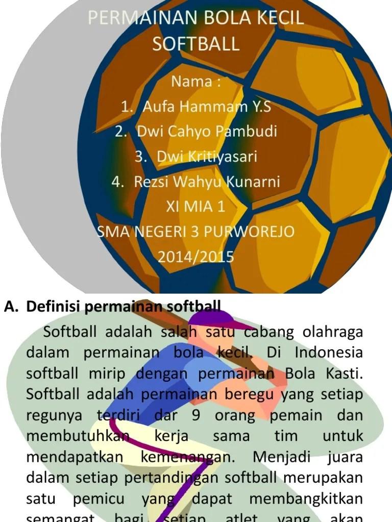 Jumlah Pemain Dalam Permainan Softball : jumlah, pemain, dalam, permainan, softball, Jumlah, Pemain, Dalam, Permainan, Softball, Terdiri, Berbagai