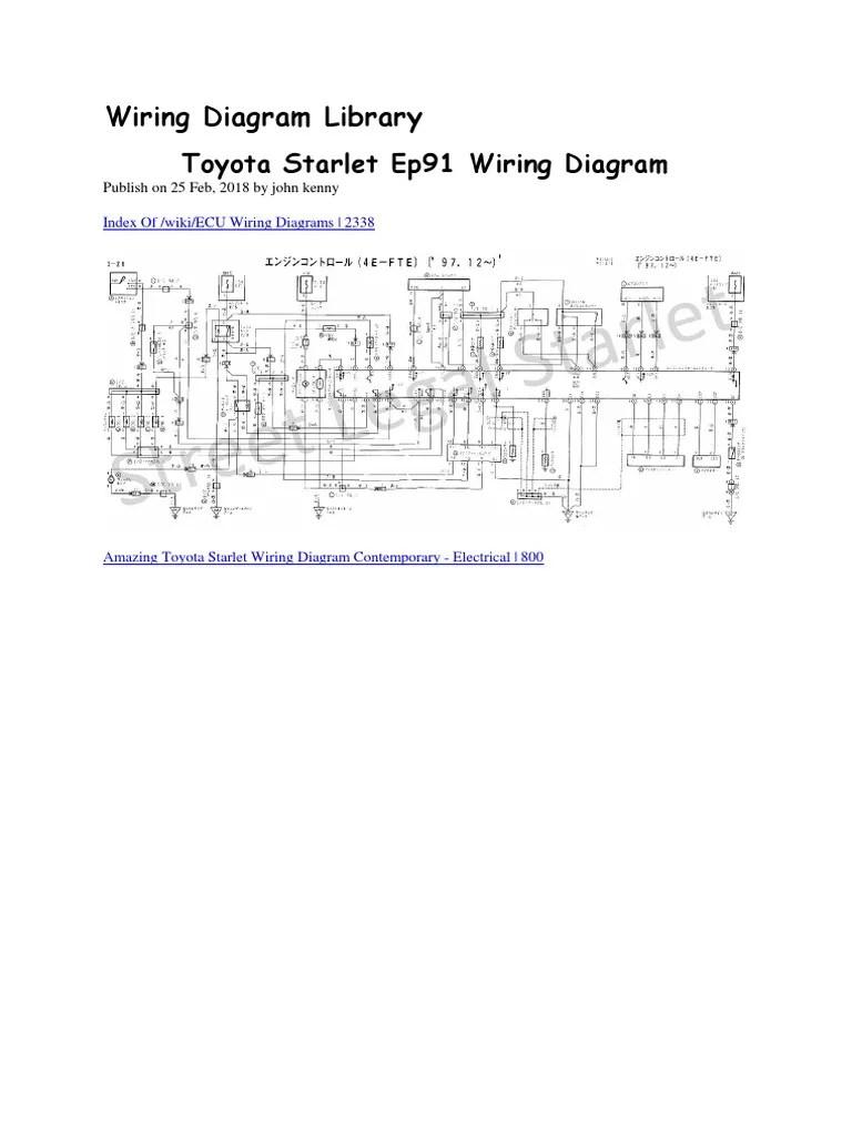 1985 Toyotum Wiring Diagram - Fuse & Wiring Diagram