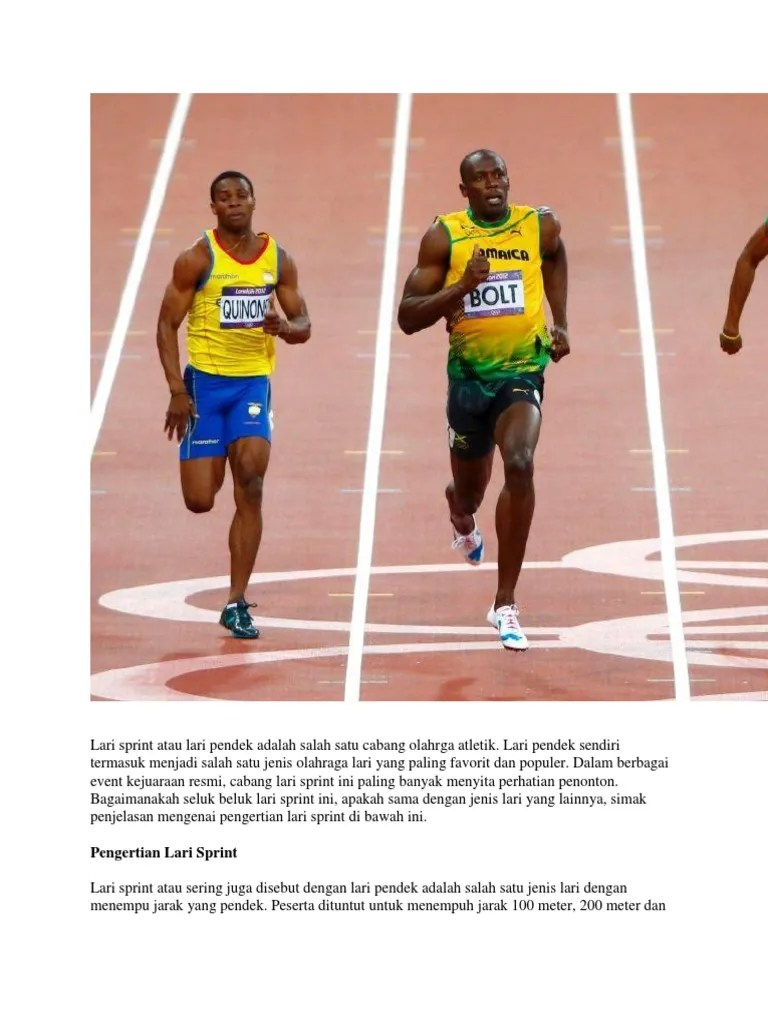 Taktik dan Strategi Perlombaan Atletik | Mikirbae.com