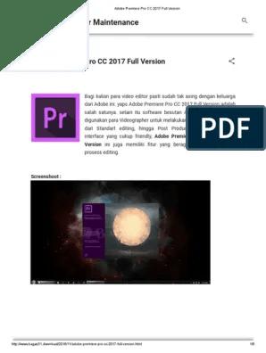 Adobe Premiere Pro Cc Bagas : adobe, premiere, bagas, Bagas, Premiere, Goreng