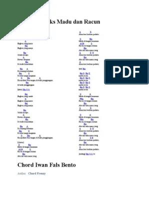 Madu Dan Racun Chord : racun, chord, Chord
