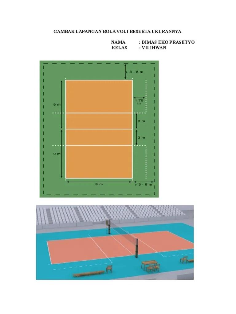 Gambar Lapangan Bola Voli Beserta Ukurannya : gambar, lapangan, beserta, ukurannya, Gambar, Lapangan, Beserta, Ukurannya