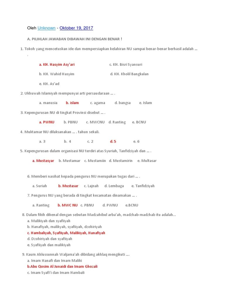 Soal Dan Kunci Jawaban Tajwid : kunci, jawaban, tajwid, Tajwid, Pilihan, Ganda, Jawabannya, IlmuSosial.id