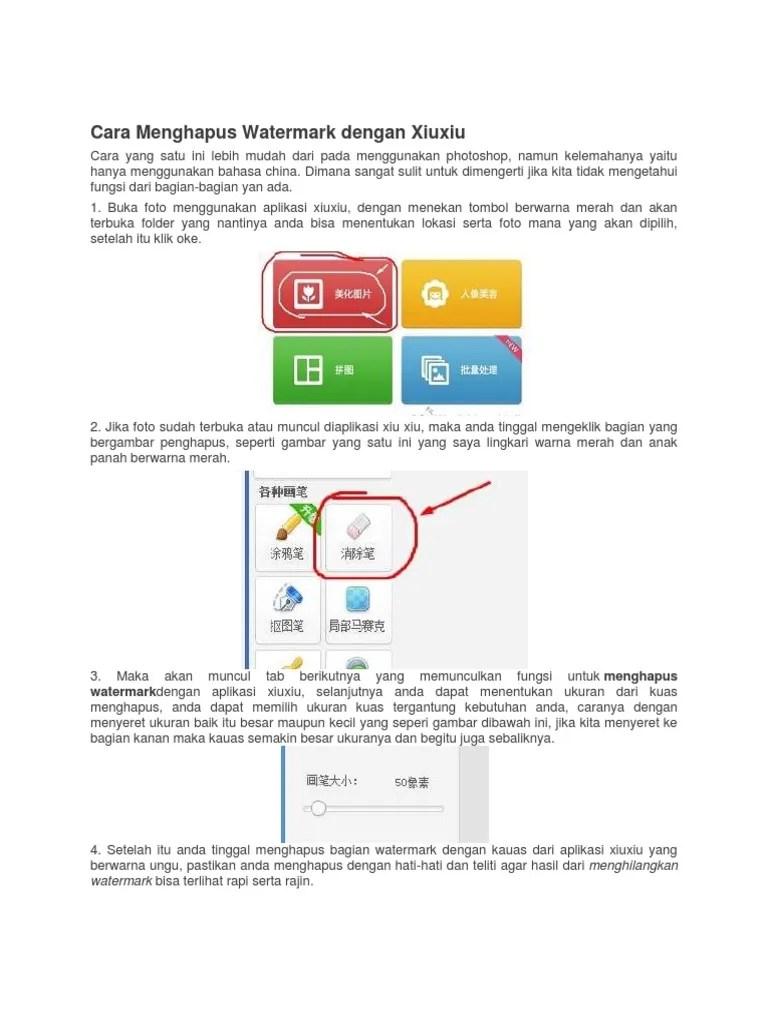Cara Menghilangkan Watermark Dengan Photoshop : menghilangkan, watermark, dengan, photoshop, Menghapus, Watermark, Dengan, Xiuxiu