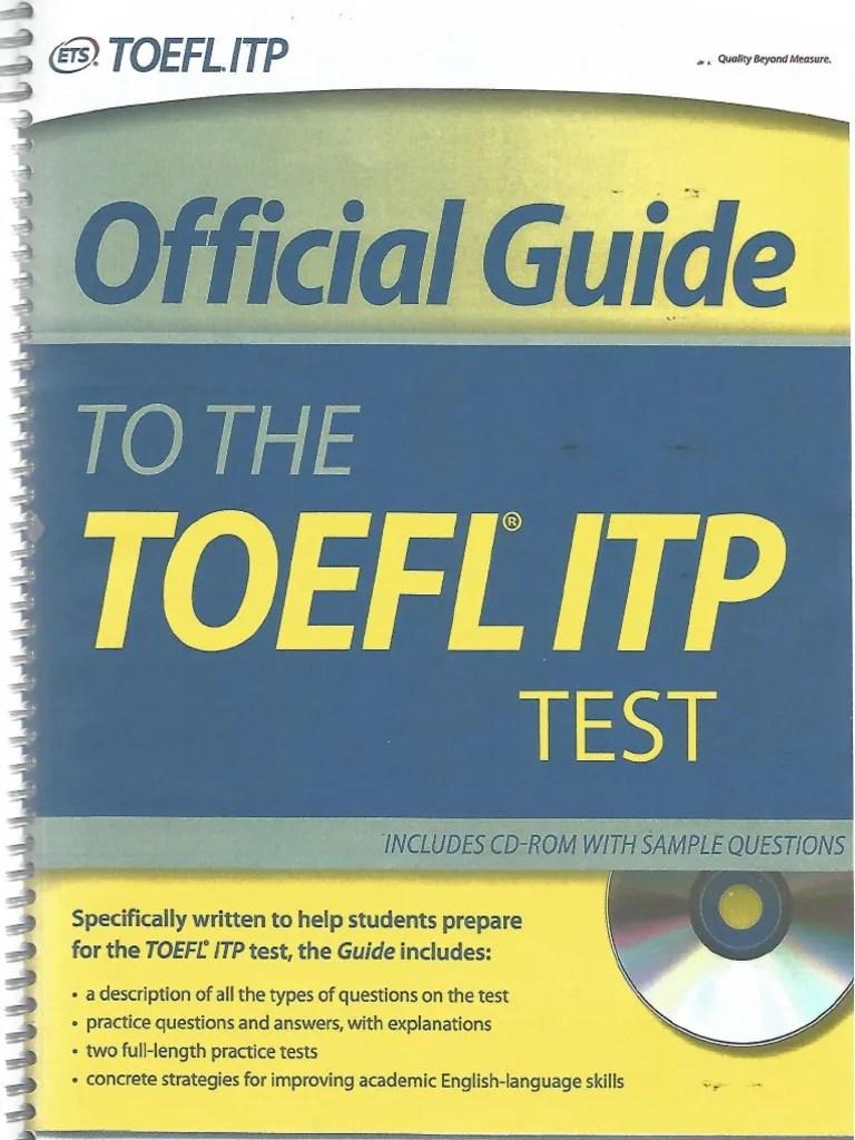 (PDF) (tinggal latihan soalnya)TOEFL+ITP Examinee | Noerul