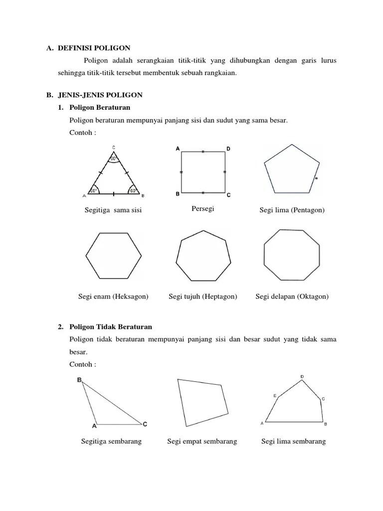 Jumlah Sudut Segilima : jumlah, sudut, segilima, Besar, Sudut, Dengan