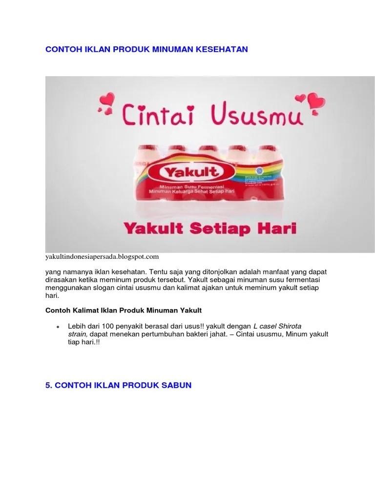 Contoh Iklan Produk Sabun : contoh, iklan, produk, sabun, Contoh, Reklame, Sabun, Mandi