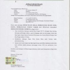 Agen Baja Ringan Di Denpasar Surat Dukungan Dan Lampiran Ijin Distributor