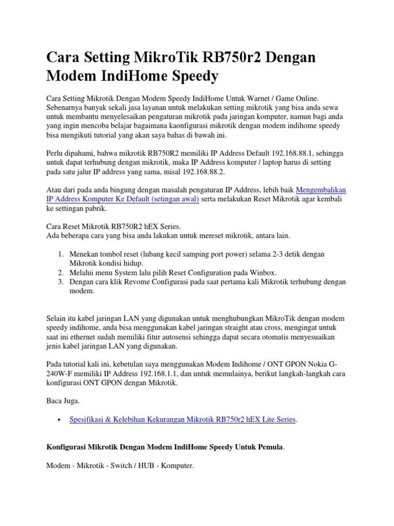 Reset Modem Indihome : reset, modem, indihome, ✔️, Reset, Modem, Indihome, Nokia, Gratis