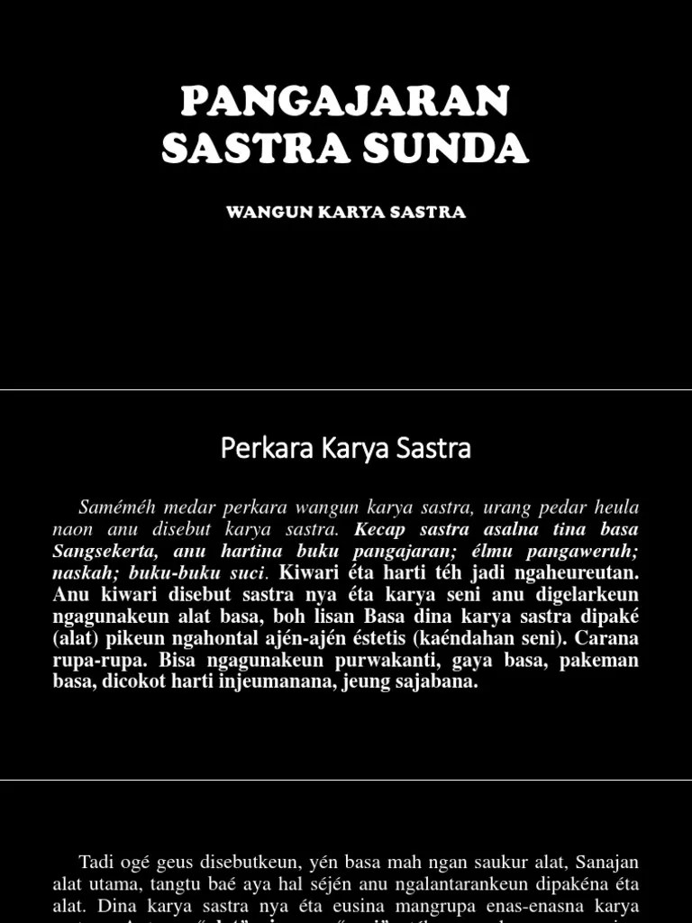 Sora Vokal Dina Tungtung Padalisan Disebut : vokal, tungtung, padalisan, disebut, Pangajaran, Sastra, Sunda