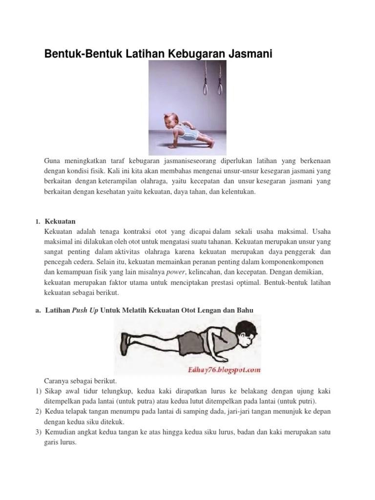 Contoh Latihan Kekuatan Otot Lengan : contoh, latihan, kekuatan, lengan, Bentuk
