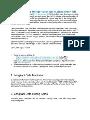 Emis Manajemen Un Ma : manajemen, Manajemen, Revisi, Sekolah