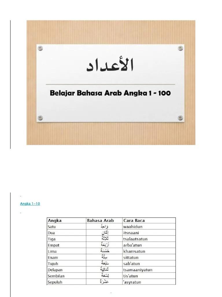 Angka Arab 1 1000 : angka, Update, Viral, Terkini, 2019:, Belajar, Angka, Bahasa
