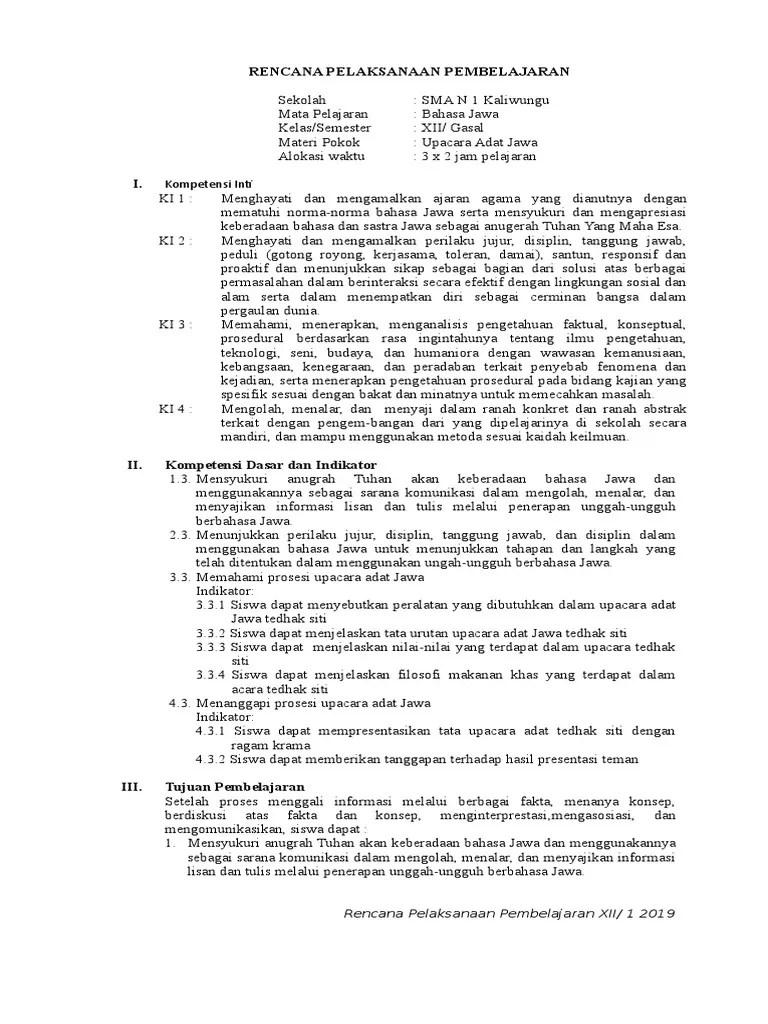 Upacara Adat Jawa Dalam Bahasa Jawa : upacara, dalam, bahasa, Materi, Bahasa, Kelas, Semester, Upacara, IlmuSosial.id