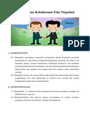 Unsur Kebahasaan Teks Negosiasi : unsur, kebahasaan, negosiasi, Unsur, Kebahasaan, Negosiasi, Warga, Dengan, Investor, Inilah, Pembahasan, Lengkap, Terkait, Struktur