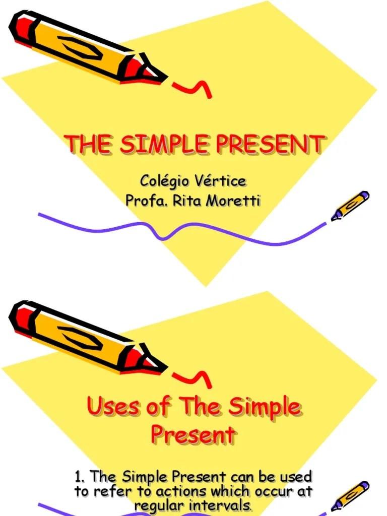 Ppt Simple Present Tense : simple, present, tense, The-simple-present-tense_3890.ppt, Philology