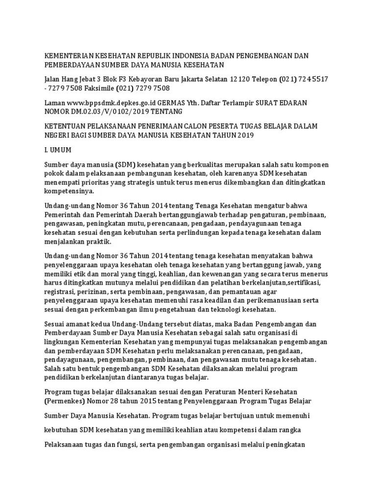 Tubel Kemenkes 2019 : tubel, kemenkes, Tubel, 2019-Dikonversi