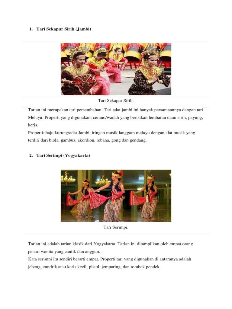Properti Tari Payung : properti, payung, Sekapur, Sirih, (Jambi)