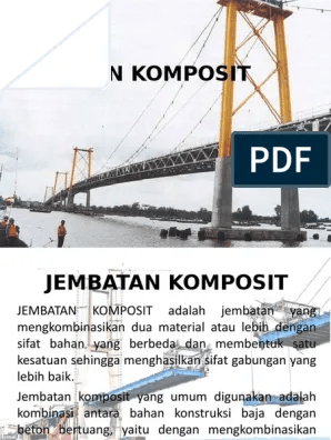 Gambar Jembatan Komposit : gambar, jembatan, komposit, Jembatan, Komposit.ppt