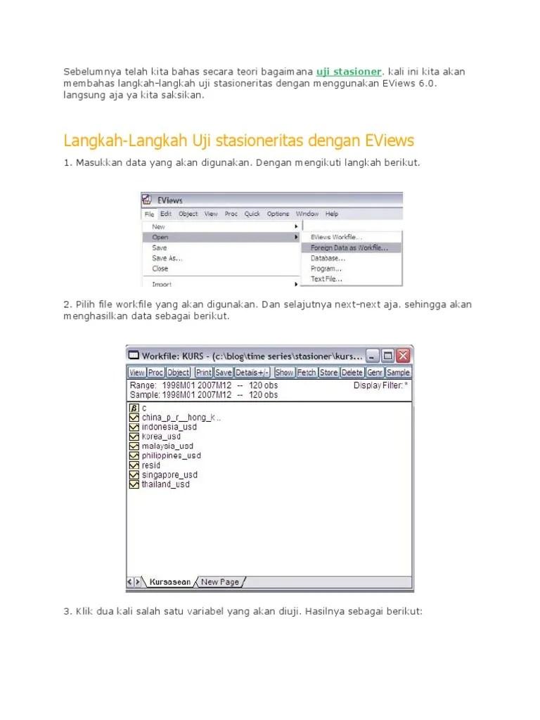 PDF 1  analisis regresi dengan pendekatan VECM