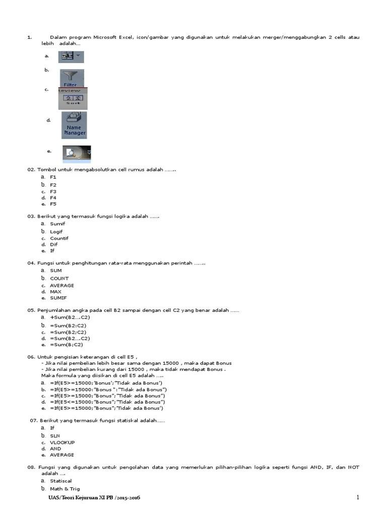 Menggabungkan 2 Cell : menggabungkan, Spreadsheet
