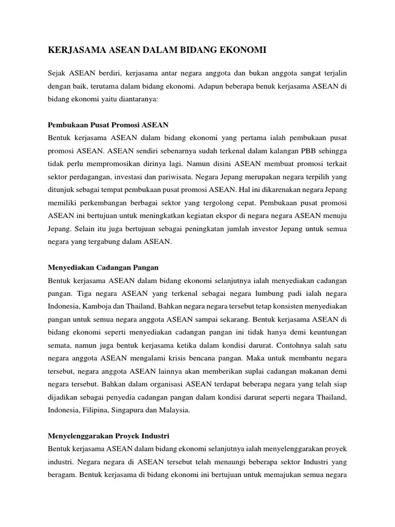 Bentuk Kerjasama Asean Dalam Bidang Pendidikan : bentuk, kerjasama, asean, dalam, bidang, pendidikan, Kerjasama, Asean, Dalam, Bidang, Ekonomi,, Pendidikan, Sosial