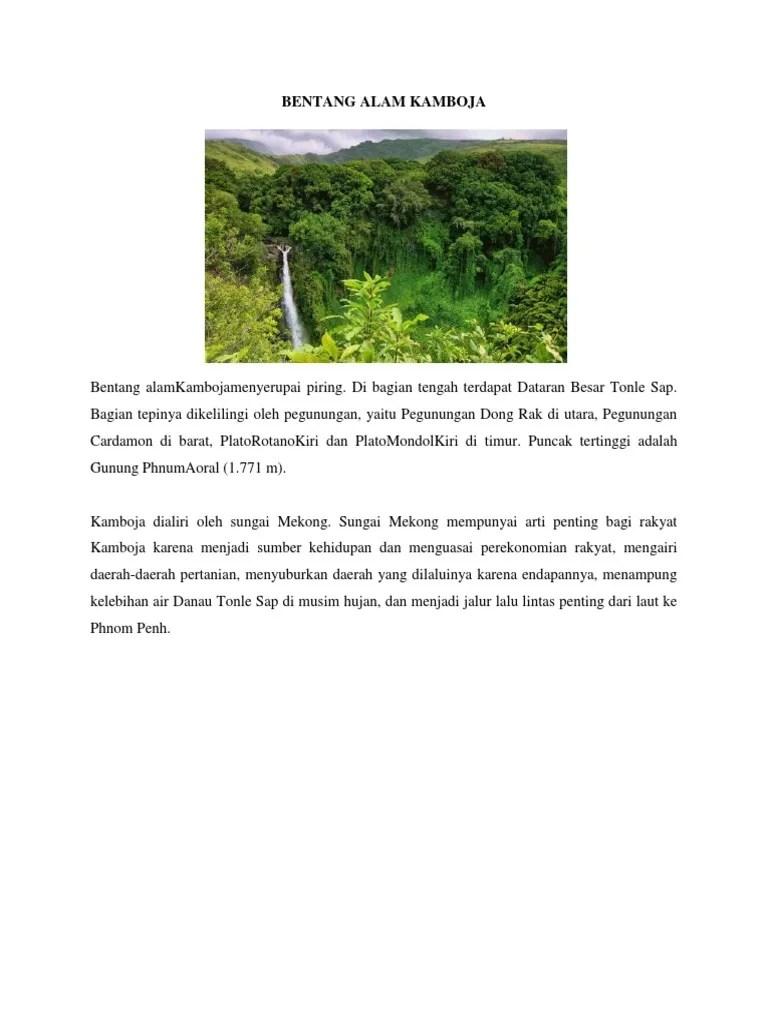 Bentang Alam Kawasan Asia Tenggara - IPS 8 - SMP Islam