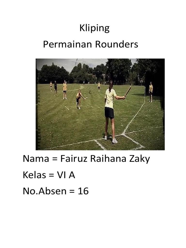 Permainan Rounders : permainan, rounders, Rounders, Bermanfaat