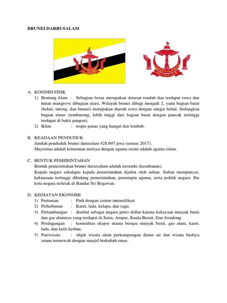 Sistem Pemerintahan Brunei Darussalam : sistem, pemerintahan, brunei, darussalam, Bentuk, Pemerintahan, Brunei, Darussalam, Adalah, Sedang