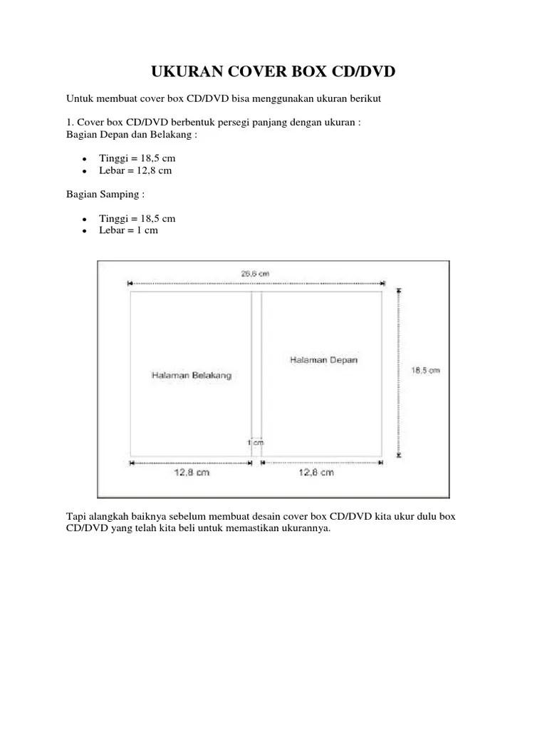 Ukuran Cover Cd : ukuran, cover, Ukuran, Cover