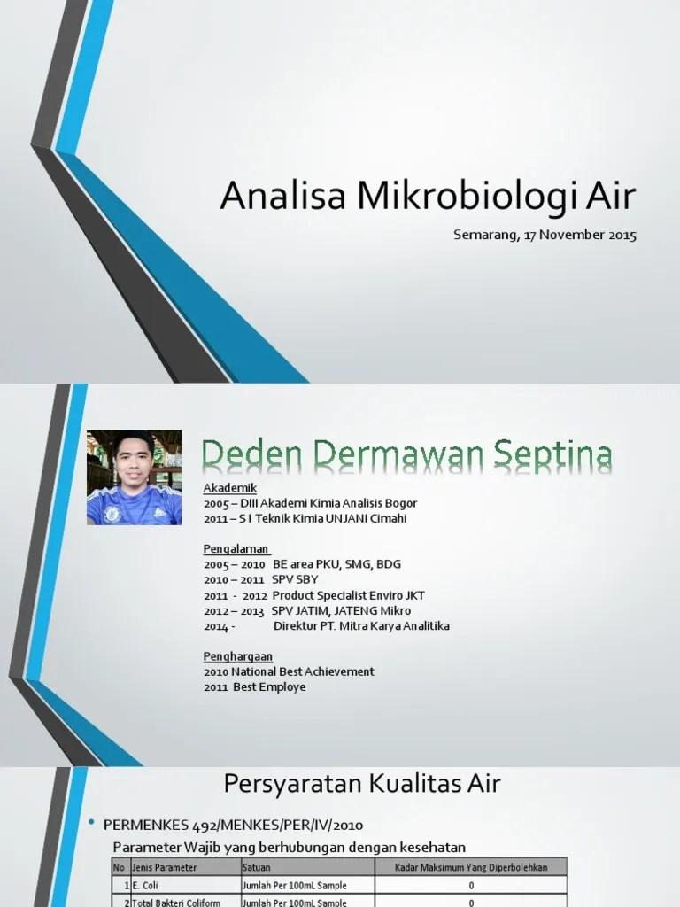 E-academic Unjani : e-academic, unjani, Analisa, Mikrobiologi, Semarang,, November