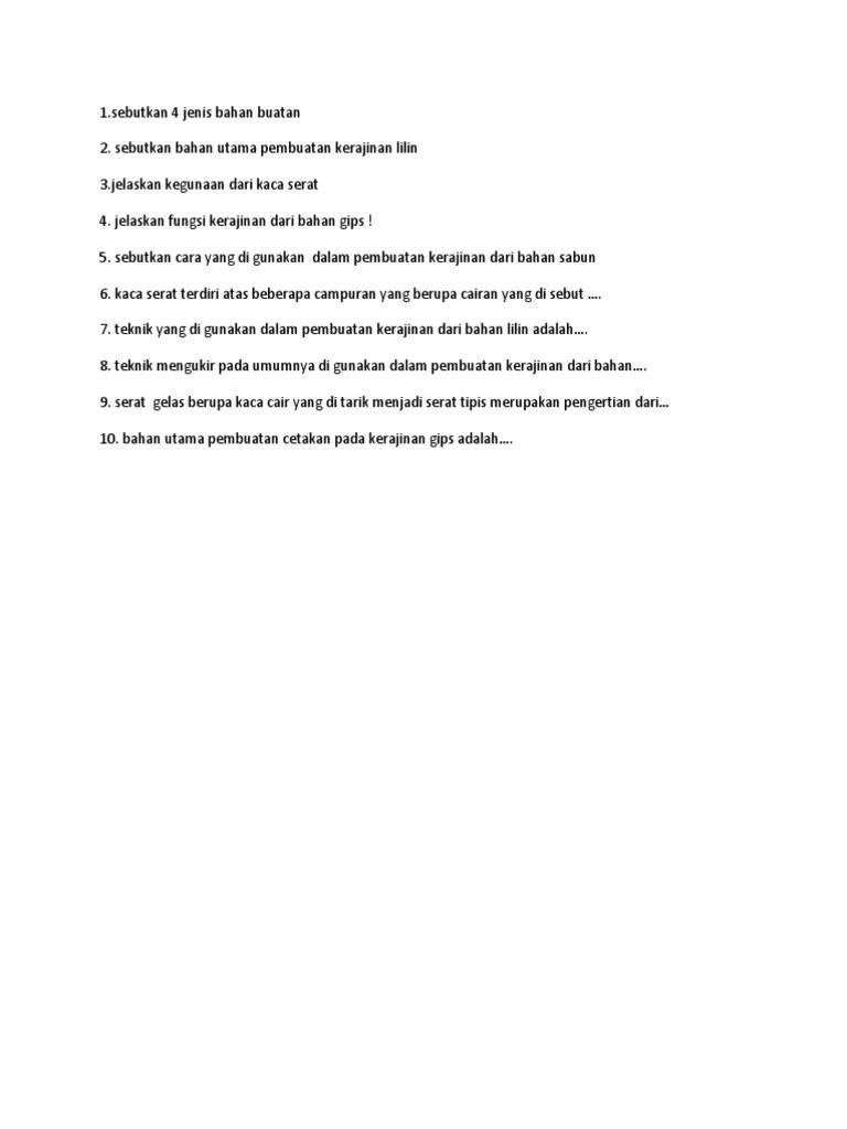 Jelaskan Proses Penyiapan Dan Pembuatan Gips Untuk Teknik Cetak : jelaskan, proses, penyiapan, pembuatan, untuk, teknik, cetak, Bagaimana, Proses, Pembuatan, Kerajinan, Bahan