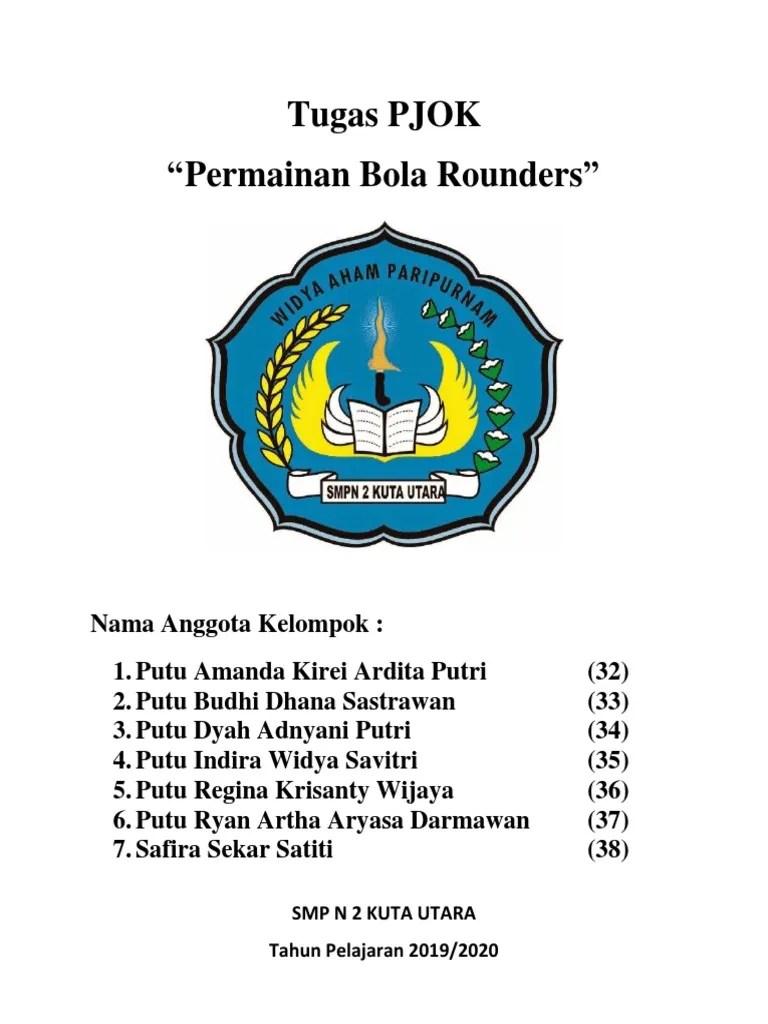 Bola Rounders Berukuran : rounders, berukuran, Rounders
