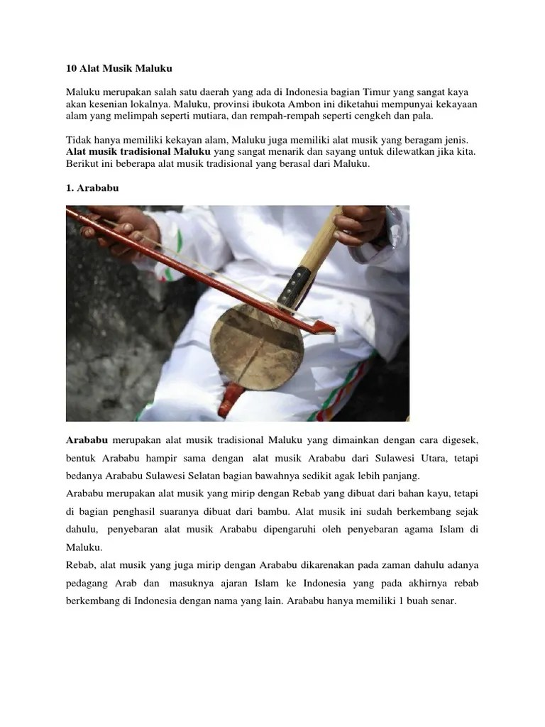 Alat Musik Khas Indonesia Bagian Timur : musik, indonesia, bagian, timur, Musik, Maluku, Tenggara