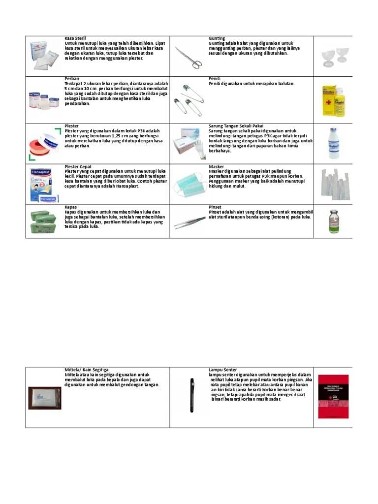 Luka Pendarahan Ditutup Dengan Kasa Steril Supaya : pendarahan, ditutup, dengan, steril, supaya, Manual