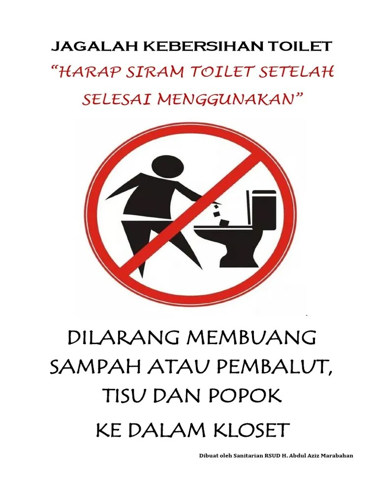 Jagalah Kebersihan Toilet : jagalah, kebersihan, toilet, JAGALAH, KEBERSIHAN, TOILET.docx