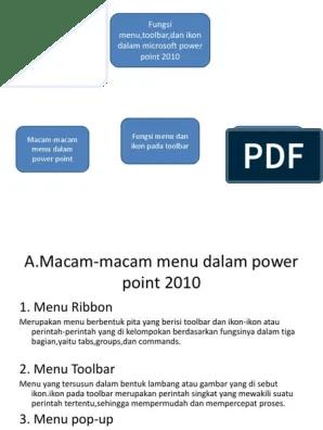 Bagian Bagian Microsoft Powerpoint 2010 : bagian, microsoft, powerpoint, Fungsi, Microsoft, Powerpoint, Rasanya