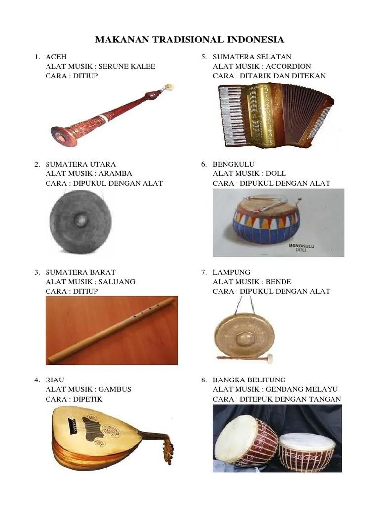 Alat Musik Sumatera : musik, sumatera, Musik