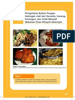 Makanan Dari Serealia : makanan, serealia, Pengolahan, Bahan, Pangan, Setengah, Serealia,, Kacang-kangan,, Menjasi, Makanan, Wilayah, Setempat