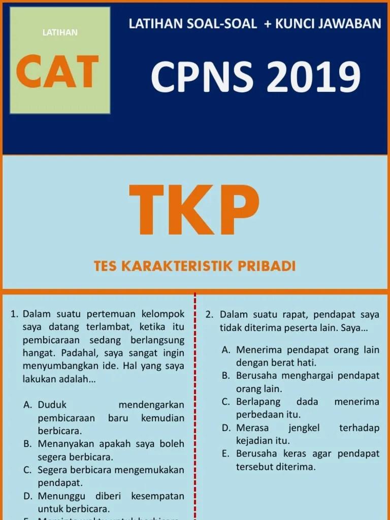 Latihan Soal Cpns 2019 : latihan, Latihan