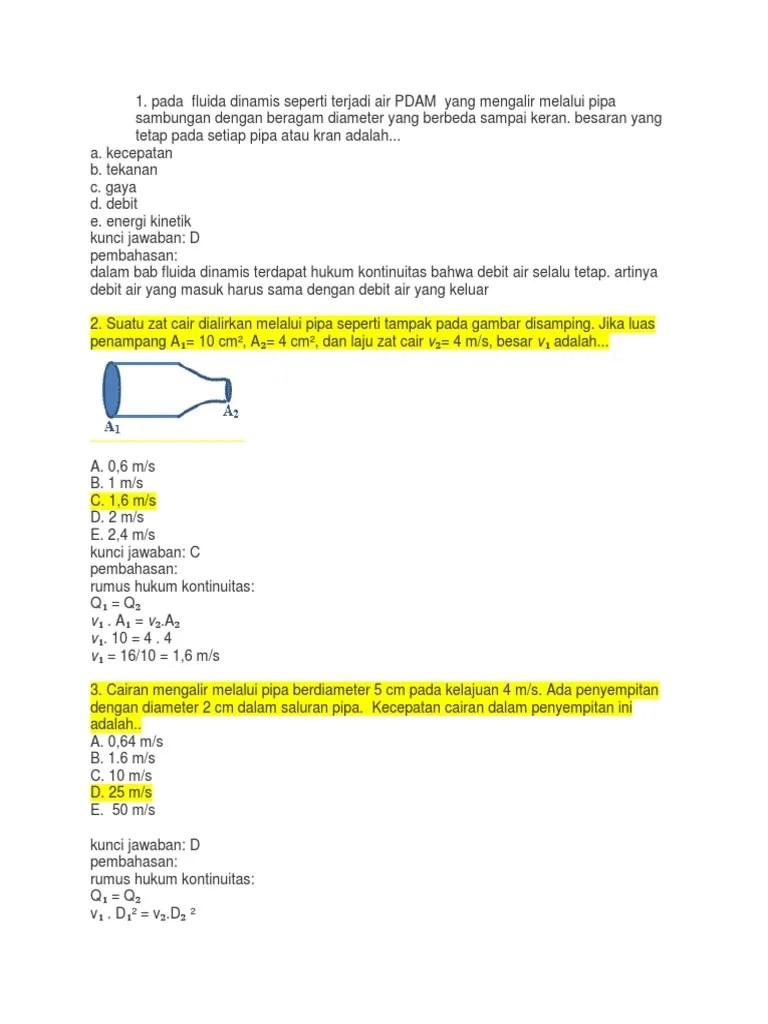 Rumus Debit Air : rumus, debit, Rumus, Debit, Keluar, Edukasi.Lif.co.id