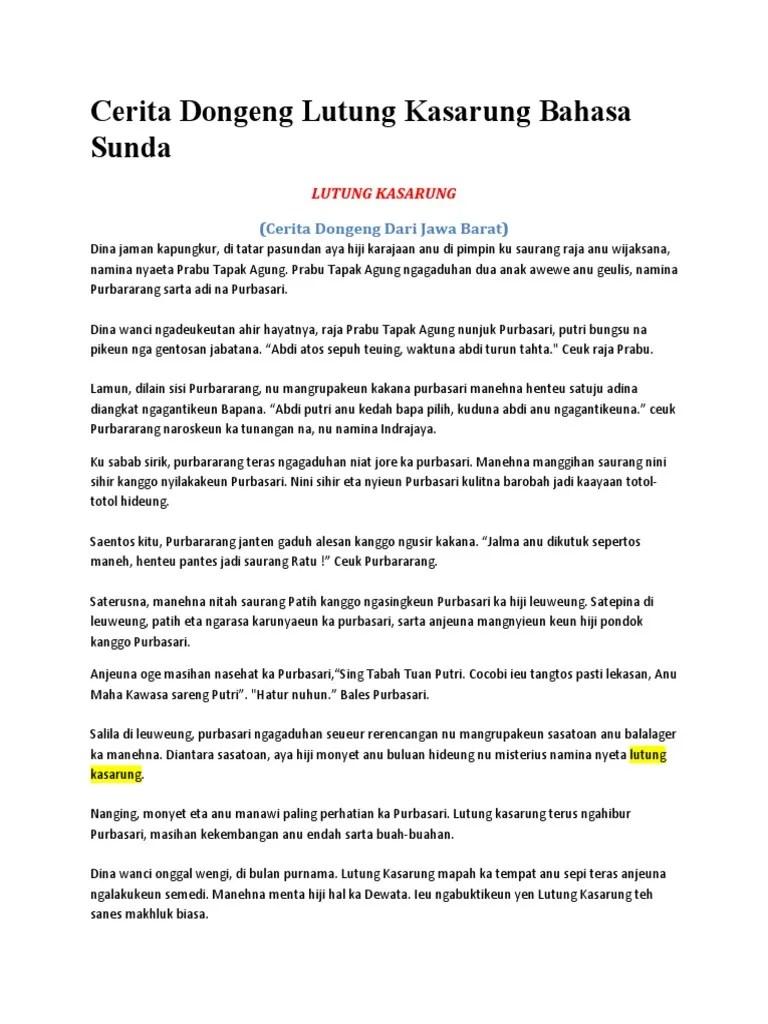 Pengertian Dongeng Bahasa Sunda : pengertian, dongeng, bahasa, sunda, Cerita, Rakyat, Dongeng, Bahasa, Sunda, Pendek, Singkat, Budaya, Indonesia