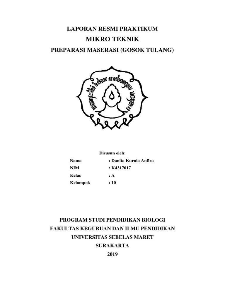 Laporan Praktikum Maserasi : laporan, praktikum, maserasi, LAPORAN, MIKROTEKNIK, MASERASI, TULANG