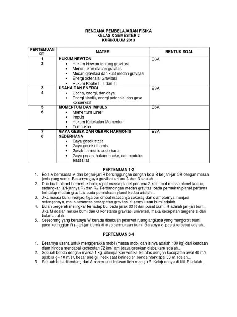 Materi Usaha Dan Energi Kelas 10 Kurikulum 2013 : materi, usaha, energi, kelas, kurikulum, FISIKA