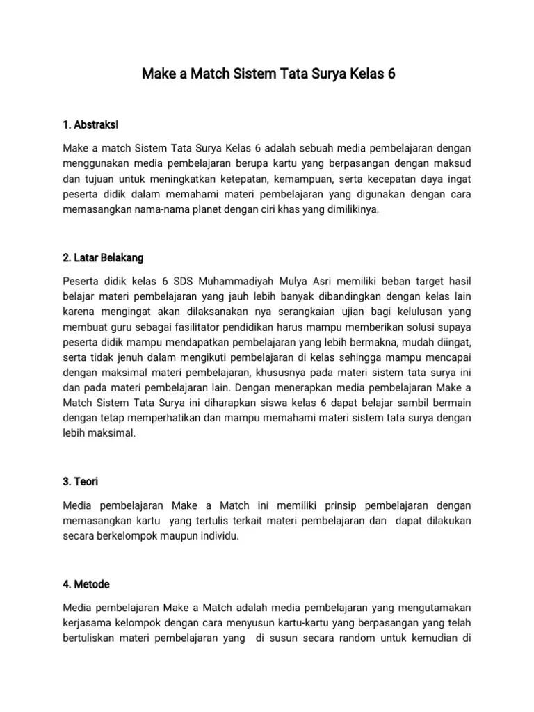 Sistem Tata Surya Kelas 6 : sistem, surya, kelas, Match, Sistem, Surya