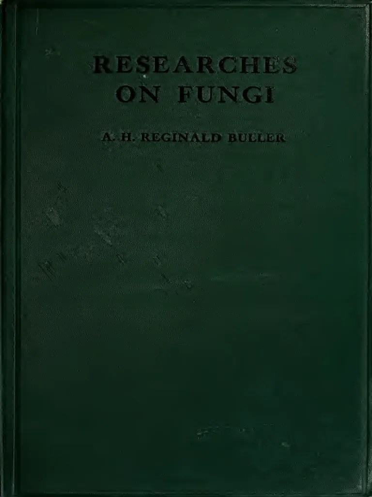 Buller 1909 Researches On Fungi 1 Cell Nucleus Mushroom