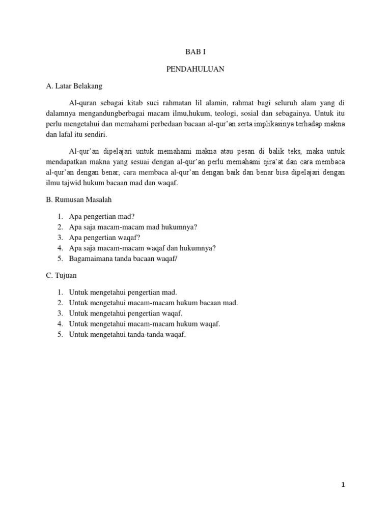 Pengertian Mad Dan Waqaf : pengertian, waqaf, Makalah_Tajwid_Hukum_Bacaan_Madd_dan_Waq.docx